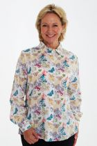Double Two Butterfly Blouse