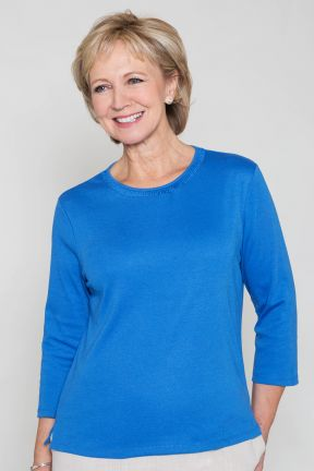 Poppy Ruched Neck Jersey