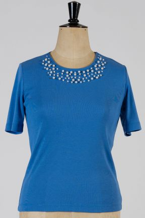 Poppy Pearl Embellished Top