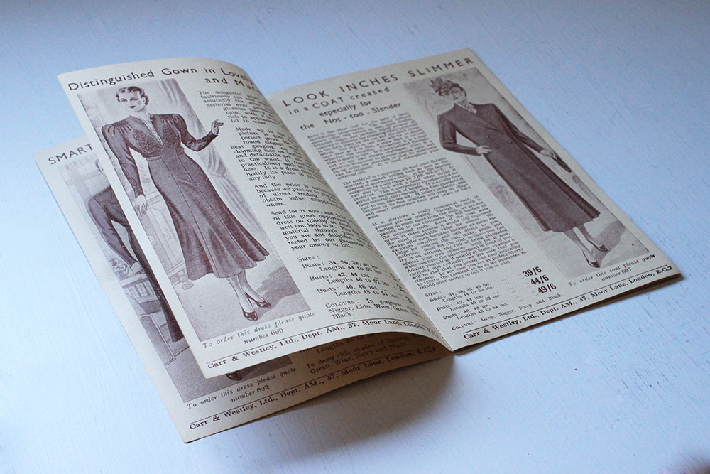 Pre-WW2 Carr & Westley Catalogue