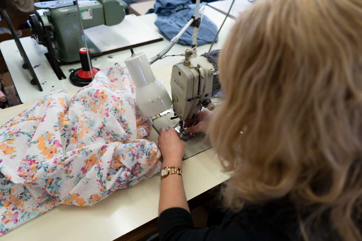 Carr & Westley's Factory Helps Produce Scrubs For Local NHS Assessment Centre